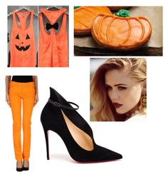 """""""Halloween #151."""" by polinok2010 ❤ liked on Polyvore featuring interior, interiors, interior design, home, home decor, interior decorating, Balenciaga and Christian Louboutin"""