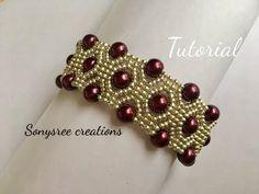 Designer Statement Bracelet Beaded bracelet DIY bracelet - YouTube