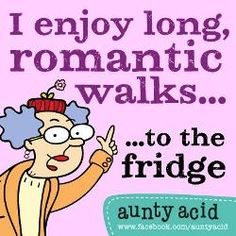Aunty Acid On Fitness And Weight Loss Exercises
