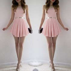 Short Homecoming Dress,Homecoming D Casual Dresses, Short Dresses, Formal Dresses, Dresses Dresses, Chiffon Dresses, Mini Dresses, Pretty Dresses, Beautiful Dresses, Dress Skirt