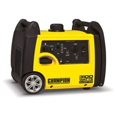 Champion Power Equipment 3100-watt Portable Gas Inverter Generator (3100 Watt Inverter), Yellow