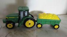 John Deere Tractor Salt & Pepper Shaker Set Enesco 1998