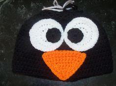 Baby or toddler penguin hat