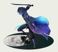Moon Elf, Azrael, Female Dancers, V Games, Identity Art, Fantasy Characters, Dungeons And Dragons, Character Concept, Cool Drawings