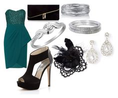 """Prom"" by kaylarichey ❤ liked on Polyvore"