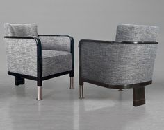 B4 - Otto Schulz club chairs Furniture Upholstery, Accent Furniture, Modern Furniture, Leather Club Chairs, Love Chair, Chinese Furniture, Single Sofa, Small Sofa, Occasional Chairs