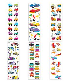 Look at this Vehicles Part II Sticker Set on #zulily today!