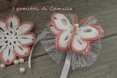 Crochet Bookmark Pattern, Crochet Bib, Crochet Bookmarks, Crochet Girls, Crochet Baby Clothes, Newborn Crochet, Thread Crochet, Crochet Motif, Crochet For Kids