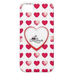 I Love you Etui Fürs iPhone 5