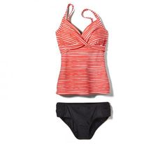 c43ce347c4 11 Flattering Plus-Size Bathing Suits--Forget the plus-size swimwear of.  Swimsuits ...