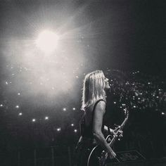 """oh-everybodys-starry-eyed: """"Repost Stunning night at Slottsfjell """" Ellie Goulding, Still Falling For You, Shes Amazing, Starry Eyed, Queen, Her Music, Light And Shadow, Concert, Music Posters"""