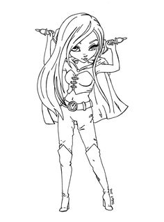 Part of the Fan Arts Cutie Pie Serie This lineart was made for as a prize for her winning in the CHRISTMAS COLORING CONTEST She asked for her OC, Vail, posed according to that ref. picture : To see...