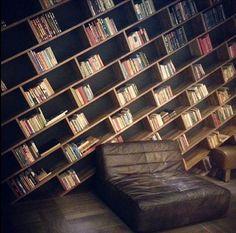 10 Best Bookshelf Ideas for Creative Decorating Projects Tags: bookshelf decorating ideas, bookshelf ideas diy, bookshelf ideas for small rooms, homemade bookshelf ideas, bookshelf design images Homemade Bookshelves, Creative Bookshelves, Library Bookshelves, Bookshelves In Bedroom, Bookcases, Cheap Bookshelves, Room Shelves, Bookshelf Styling, Bookshelf Design