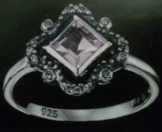 '1/2 carat Genuine Amethyst sterling silver' is going up for auction at  6am Thu, Sep 13 with a starting bid of $25.