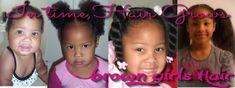 How I Taught My Daughter To Care For Her Natural Hair From Birth | Black Girl with Long Hair