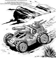 Battletech: Zephyros by Mecha-Master.deviantart.com on @deviantART