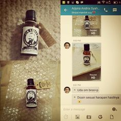 Thanks to Bro Arjuna for buying ✯ JIM REBORN ✯ EYEBROW GROWTH OIL #JimReborn #Gentleman's # Grooming #penumbuhalis