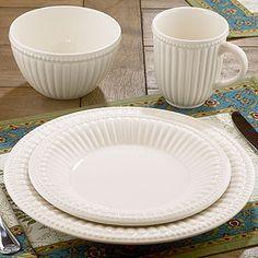 Isabella Beaded Dinnerware, Sets of 4 | Dinnerware Sets | World Market