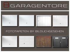 Sims 4 CC's - The Best: Garage Door Wallpaper by Bildlichgesehen