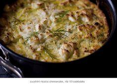 zuccini ricotta cheesecake   Recipe: http://www.sarahwilson.com.au/2011/12/my-best-ever-recipes-1/