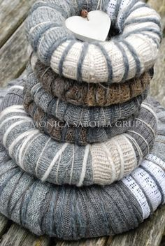 Woolen Wreaths and Re- Launching my Handmade Shop!