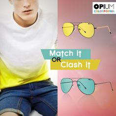 Are you more of a Beach boy or a Trekker? #MatchItorClashIt