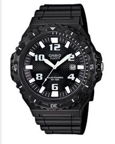 This black and white solar sport watch is fantastic b531b080bd3