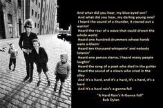 2- Bob Dylan Lyrics With Photos