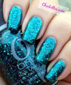Chickettes.com:  Orly Go Deeper Swatch