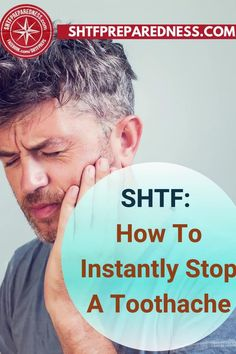 Do you know how to instantly stop a toothache? SHTF Preparedness has some tips, tricks, and remedies for you that will give you some relief if you are struggling with discomfort and pain. Have a look at this article now for more information and try the suggestions for yourself. #toothache #toothacheremedies #remedyfortoothache #toothacherelief #relieffortoothache Health Benefits, Health Tips, Health And Wellness, Natural Cures, Natural Health, Remedies For Tooth Ache, Dental Insurance, Wound Care, Best Money Saving Tips