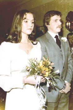 Jolanta i Aleksander Kwaśniewscy - ślub cywilny w 1979 r.