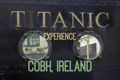 Blog post at Divergent Travelers: The Titanic made last port of call in Cobh, Ireland. Step inside these moments at the Titanic Experience for an adventure. Ireland Vacation, Ireland Travel, Scotland Travel, La Fam, Cobh Ireland, Real Titanic, Ireland With Kids, Train Tour, Western Coast