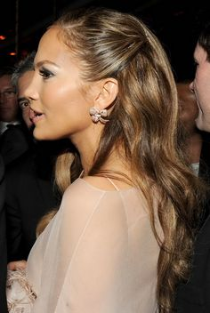 Image detail for -jennifer lopez hairstyles 30 sexy brown hair with caramel highlights ...