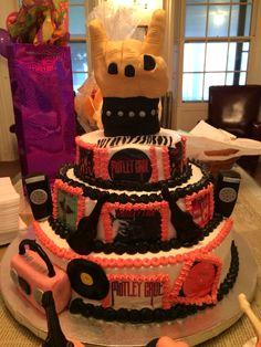 Kasserina Slayer Cake March  Fondant Cakes Pinterest - Slayer birthday cake