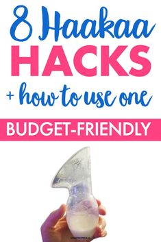 8 Haakaa Hacks   How to Use this Tool for New Moms | Smart Mom Ideas Breastfeeding Accessories, Breastfeeding And Pumping, Pregnancy Must Haves, Post Pregnancy, Milk Supply, Baby On A Budget, Babies First Year, Mom Advice, Baby Hacks