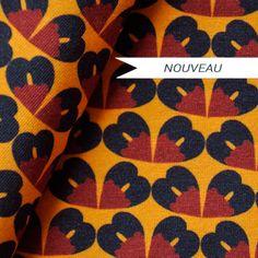 Fleurs africaines - marron - Tissus par matière/Jersey élasthane - La Modette