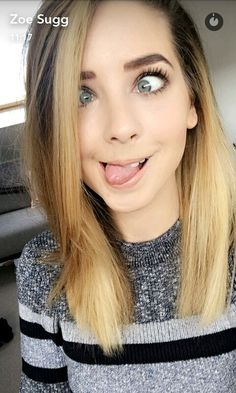 Zoe Sugg: adorably perfect in every way. Zoella Hair, Zoella Beauty, Hair Beauty, Hair Inspo, Hair Inspiration, Selfies, Zoe Sugg, Girl Online, Celebs