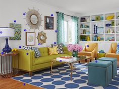 Have an Internet connection and an hour? Get the living room of your dreams! <i>HGTV Magazine</i> shopped nine flash sale sites and created this space from scratch.