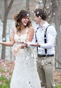 Morgantown, WV   Wedding + Engagement Photography   Rocha & Co Photography   Bride   Bride & Groom   Confetti
