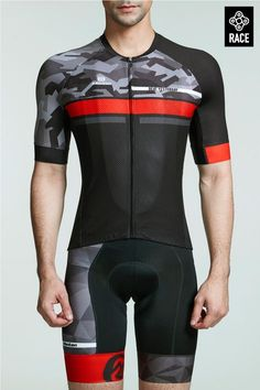 Great Men s Cycling Tops Snug Fit for Summer Bike Riding 498433e7d