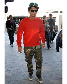 Bruno Mars in Los Angeles