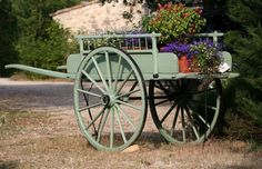 flower cart by val crookston on Flickr.