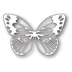 Oozak.com | Poppystamps | POP1709 | POPPYSTAMPS - Metal Craft Dies, POWELL BUTTERFLY