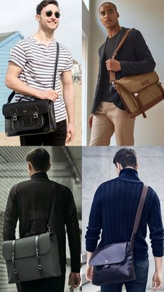 The Biggest Men's Bag Trends For 2017: Grown-Up Satchels Lookbook Inspiration