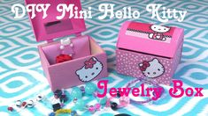DIY Miniature Hello Kitty Doll Jewelry Box