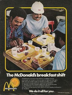 Vintage McDonald's Ads Targeted McDonald's Ads from