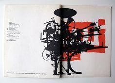 Museumjournaal borítók   Jurriaan Schrofer   1964-1967 – TGT   TERVEZŐGRAFIKA TÖRTÉNET