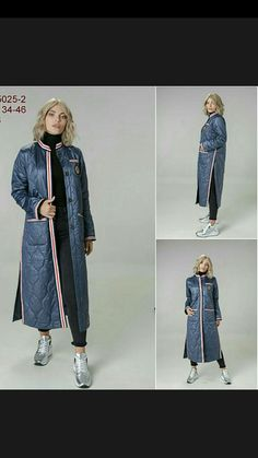 Демисезонное итальянское пальто1 Fashion 2017, Fashion Dresses, Womens Fashion, Fashion Trends, Fashion Design, Tomboy Fashion, Denim Fashion, Elisa Cavaletti, Autumn Street Style