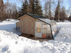 Alaska Bush Life, Off-Road, Off-Grid: Housing Winter Rabbits in Cold Climates