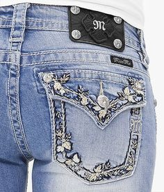 I really wanted this pair of Miss Me Jeans, but it never came small enough :(